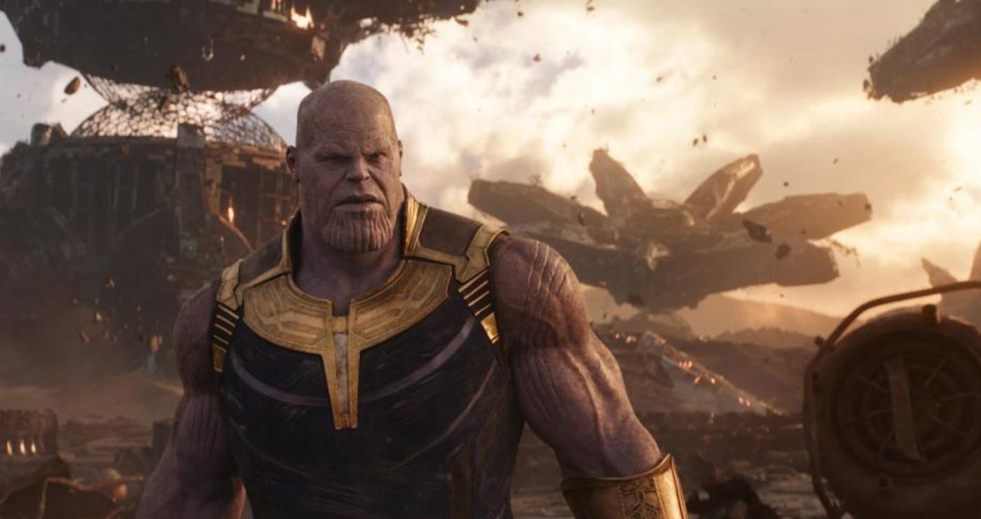 Thanos dalam 'Avengers: Infinity War'