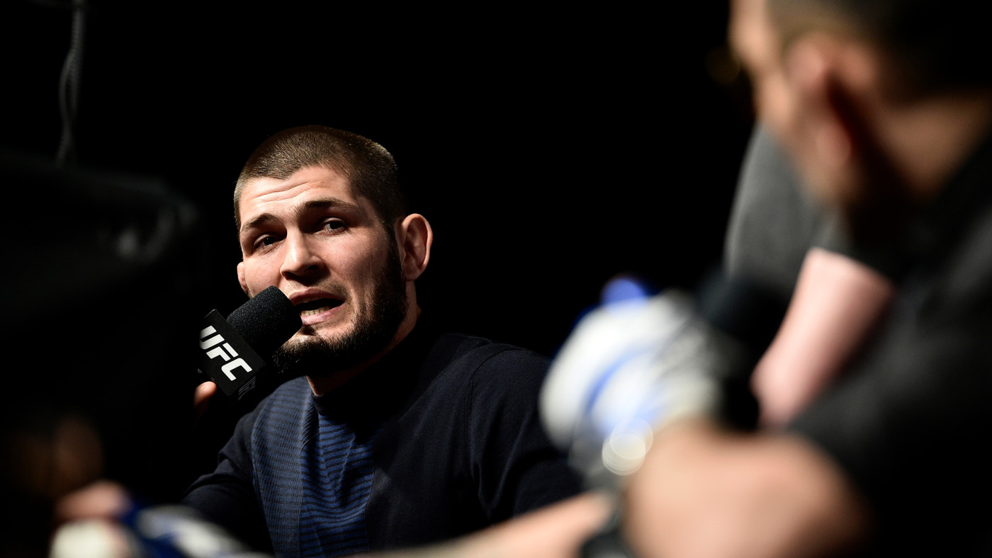 This is a photo of Khabib.