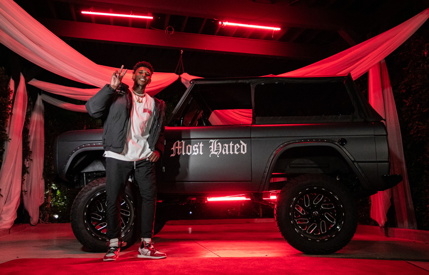 Nick Young Most Hated Party 2020 Jeep