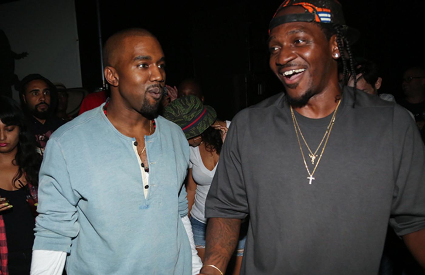 Kanye and Pusha