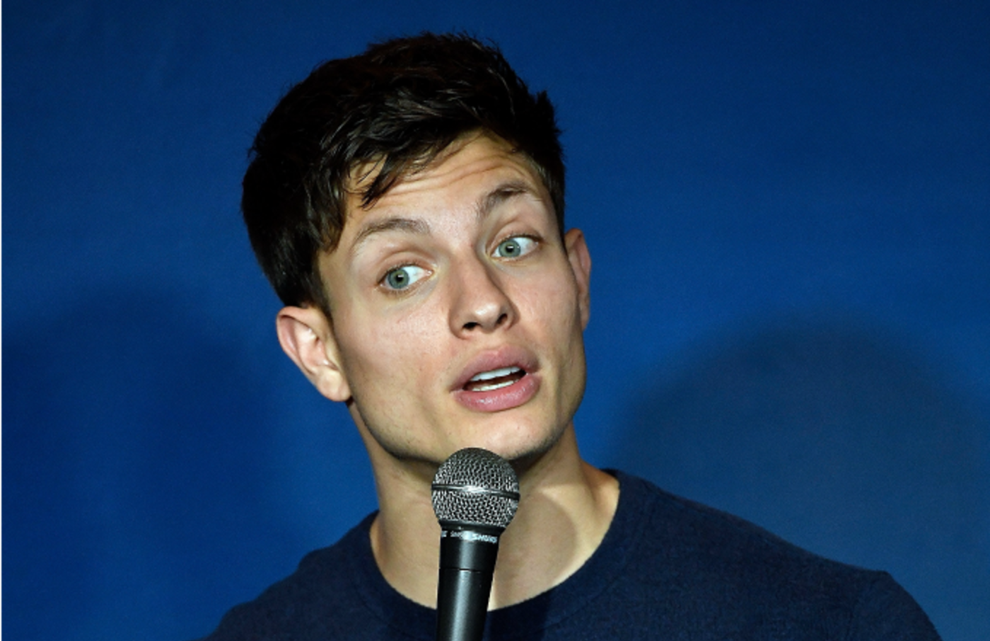 Comedian Matt Rife performs during his appearance at The Ice House Comedy Club