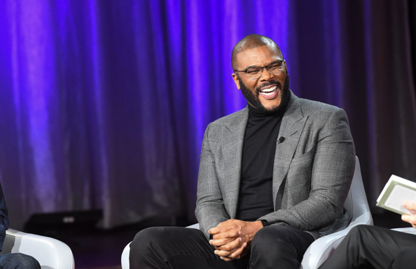 Tyler Perry at a SiriusXM 'Town Hall'
