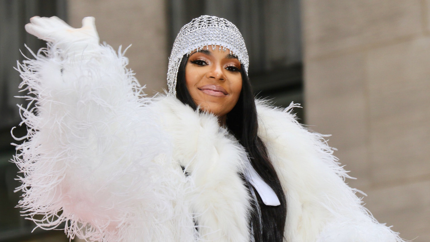 Ashanti is seen on November 28, 2019 in New York City