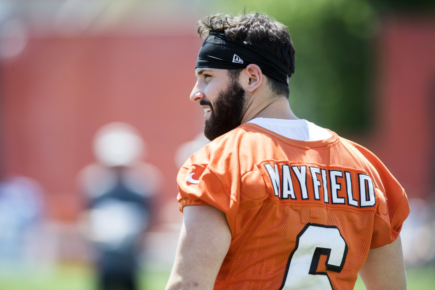 Baker Mayfield Training Camp 2018