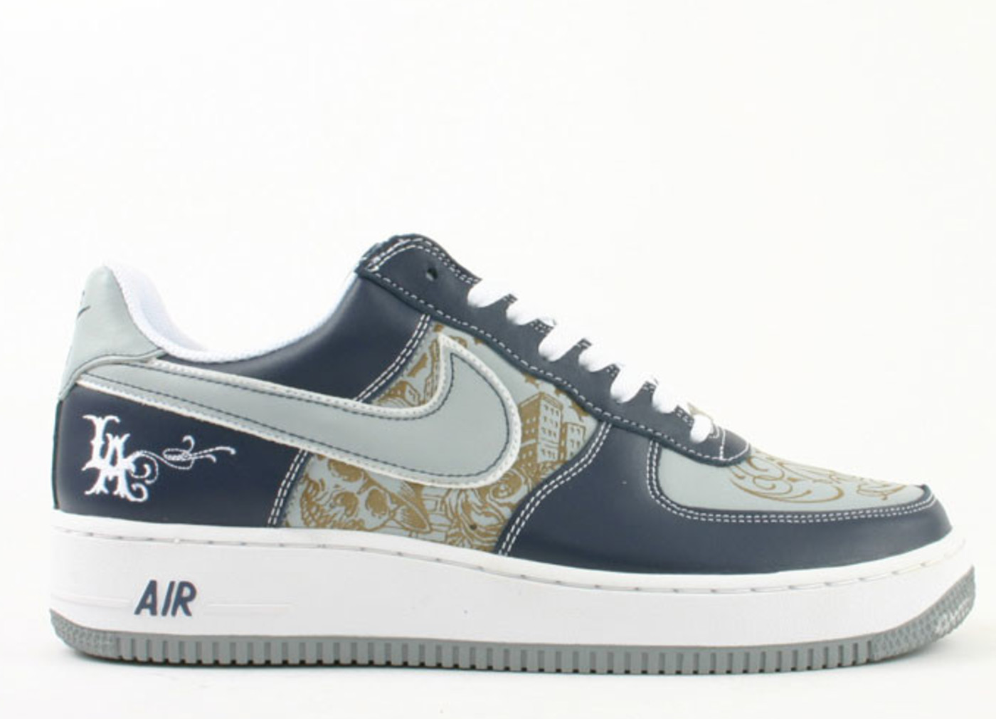 black air force 1 custom cartoon