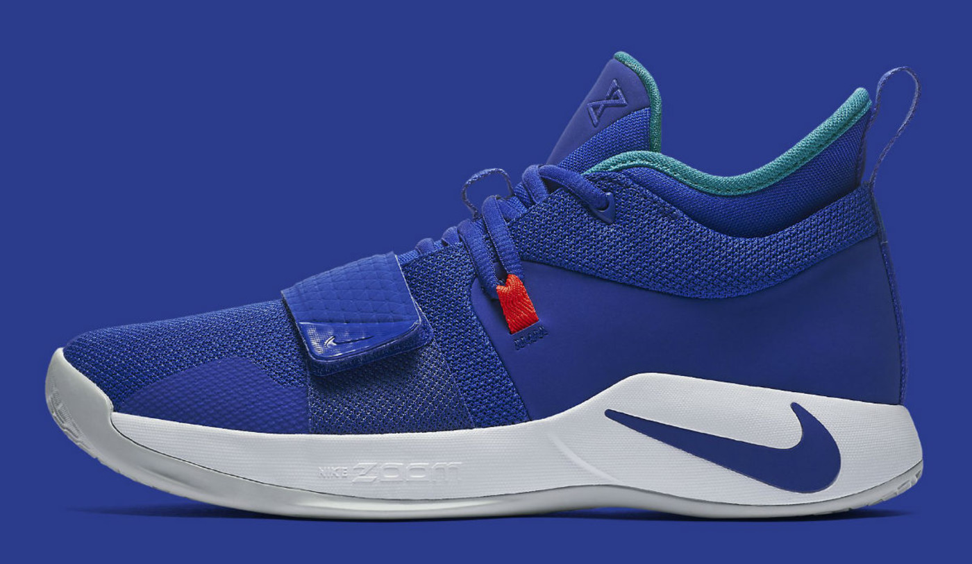 Nike PG 2.5 Fortnite Racer Blue Release Date BQ8452 Profile