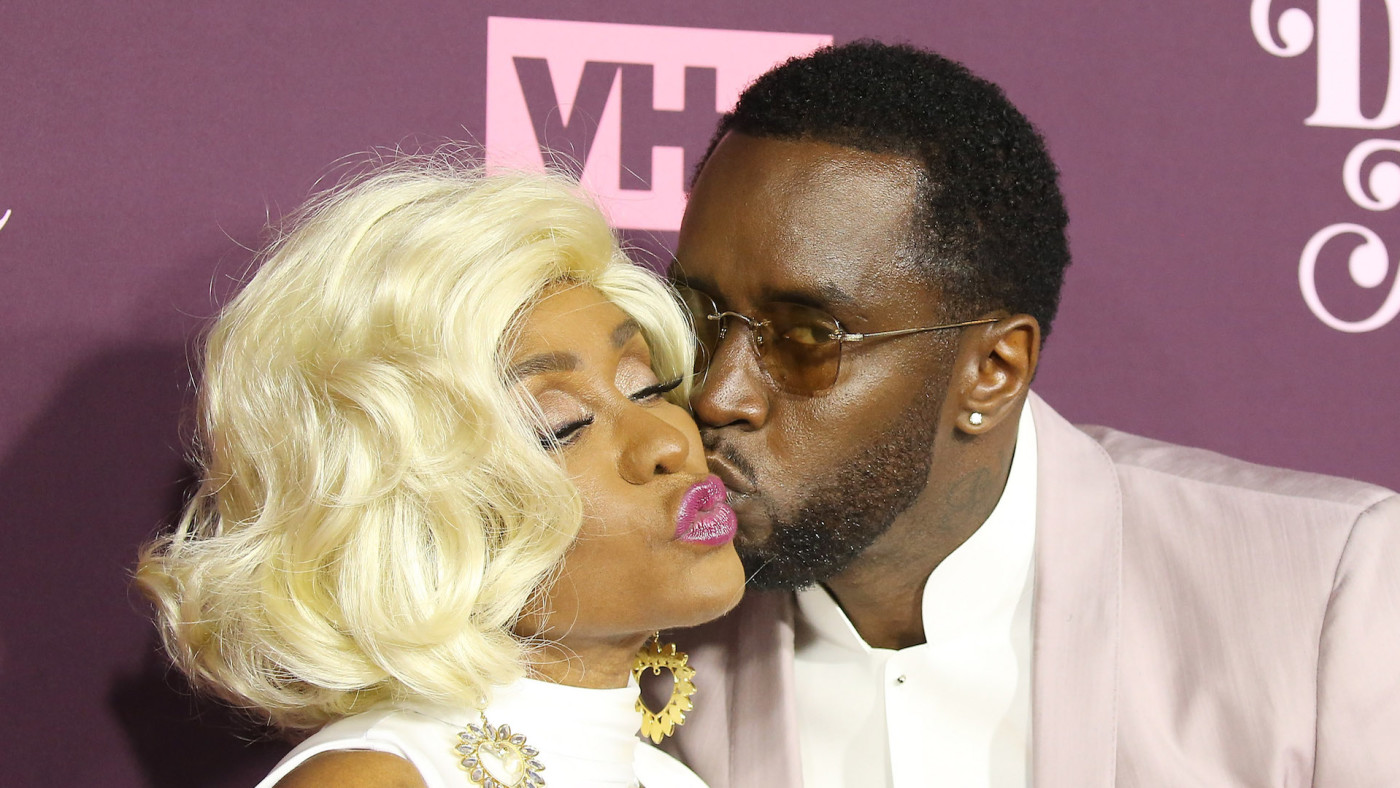 Sean Combs and his mom, Janice Combs