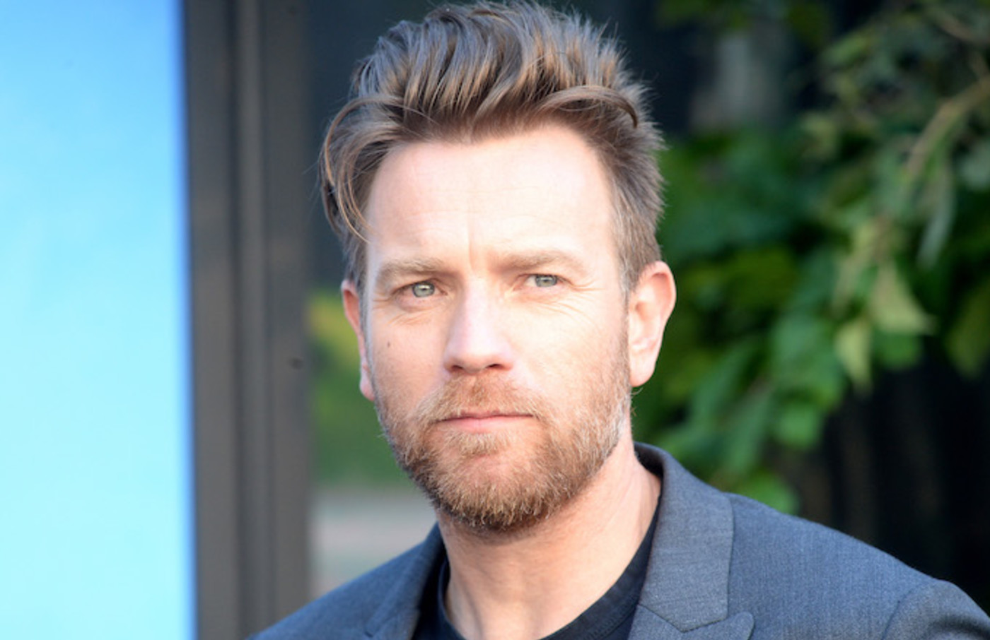 Ewan McGregor attends the European Premiere of 'Christopher Robin.'