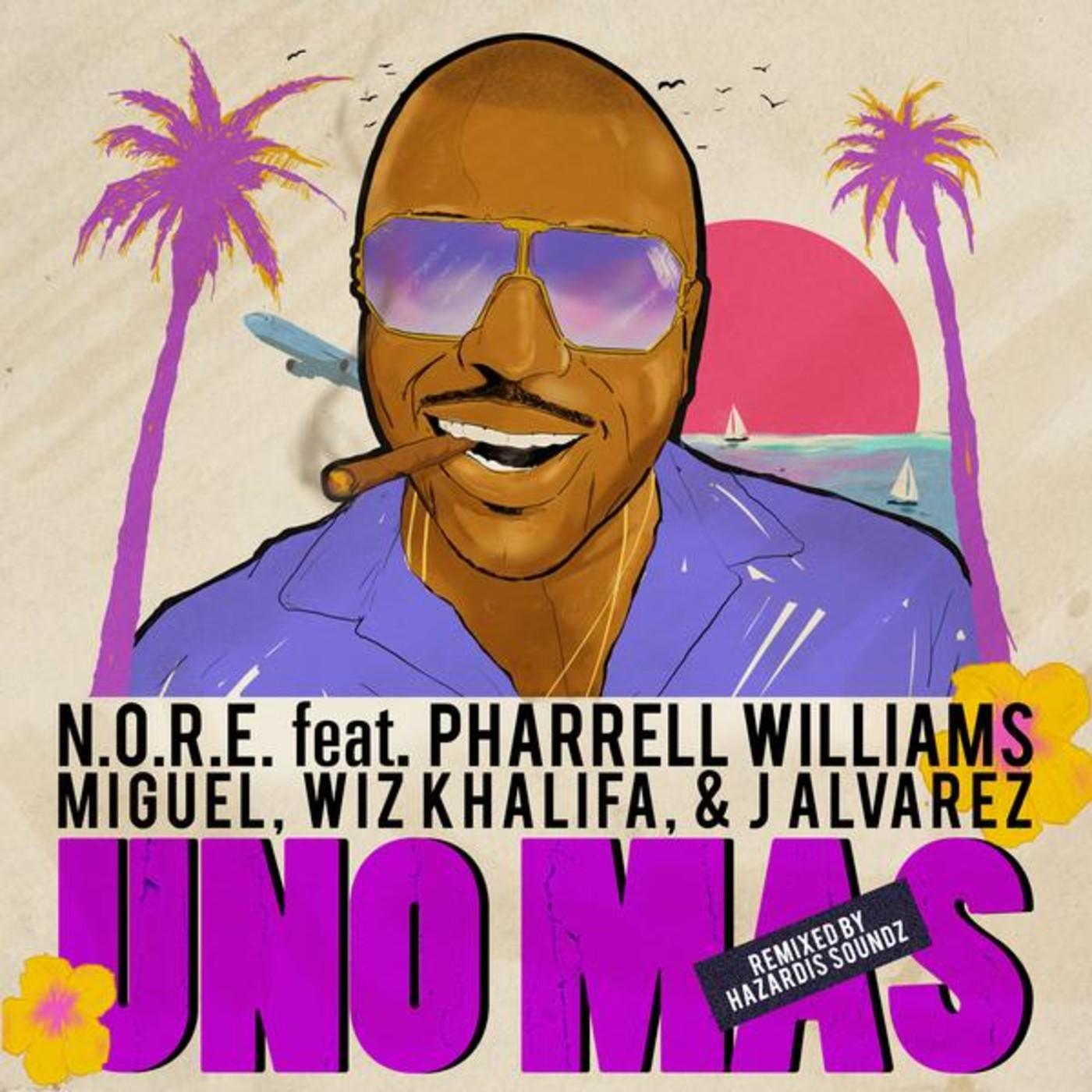 """Album cover for """"Uno Más (Remix)"""""""