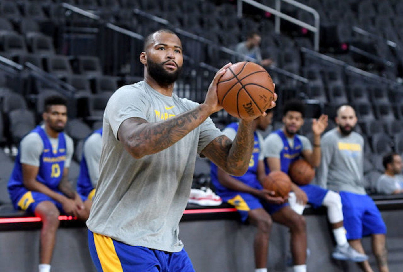 This is a picture of Demarcus Cousins.