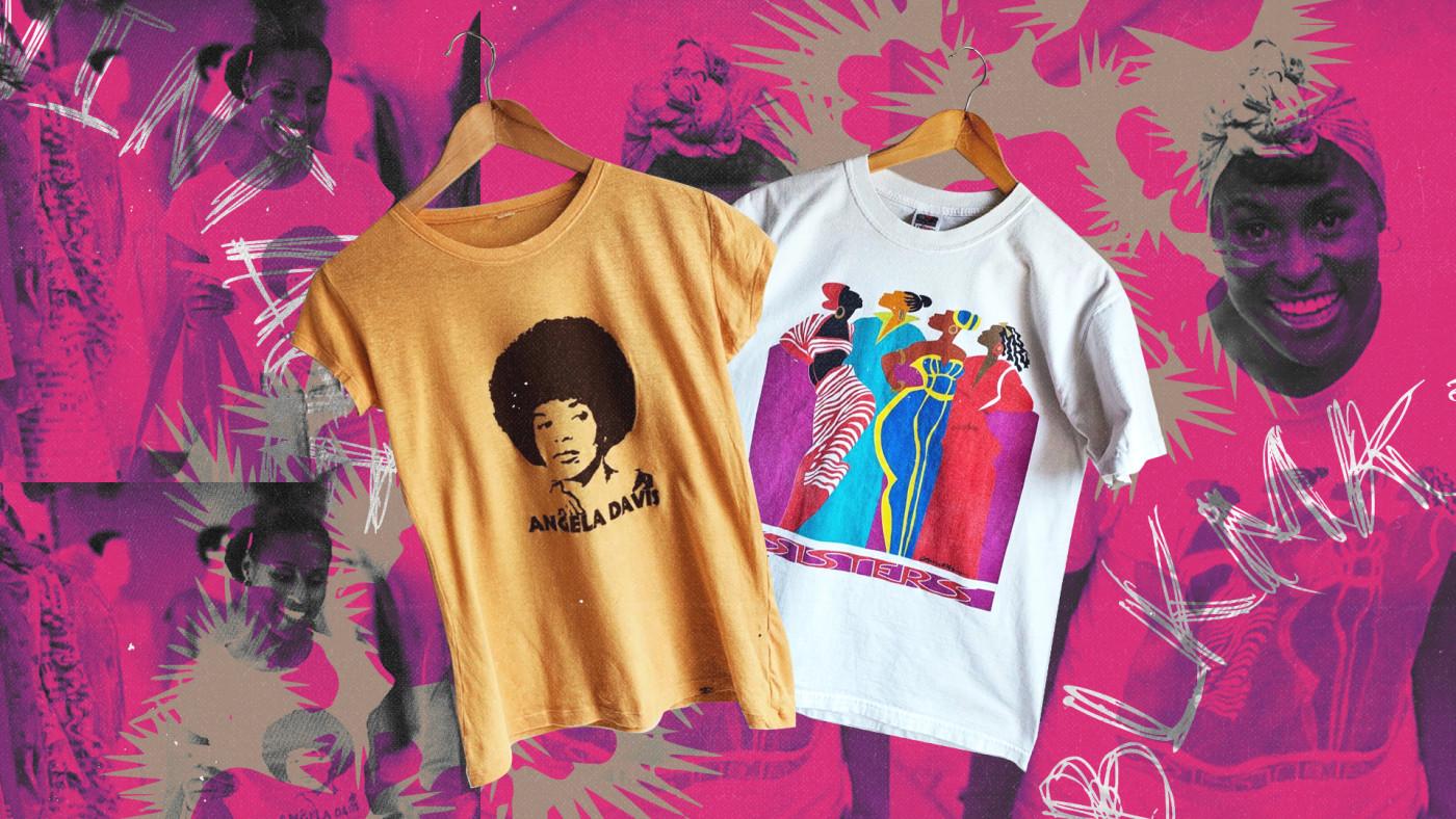 Issa Rae Insecure Vintage T-shirt Blk Mkt vintage
