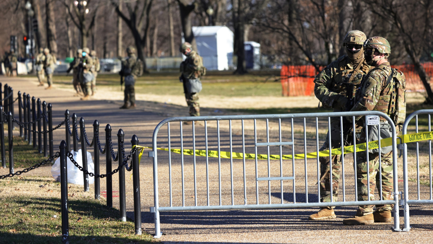National Guard in DC