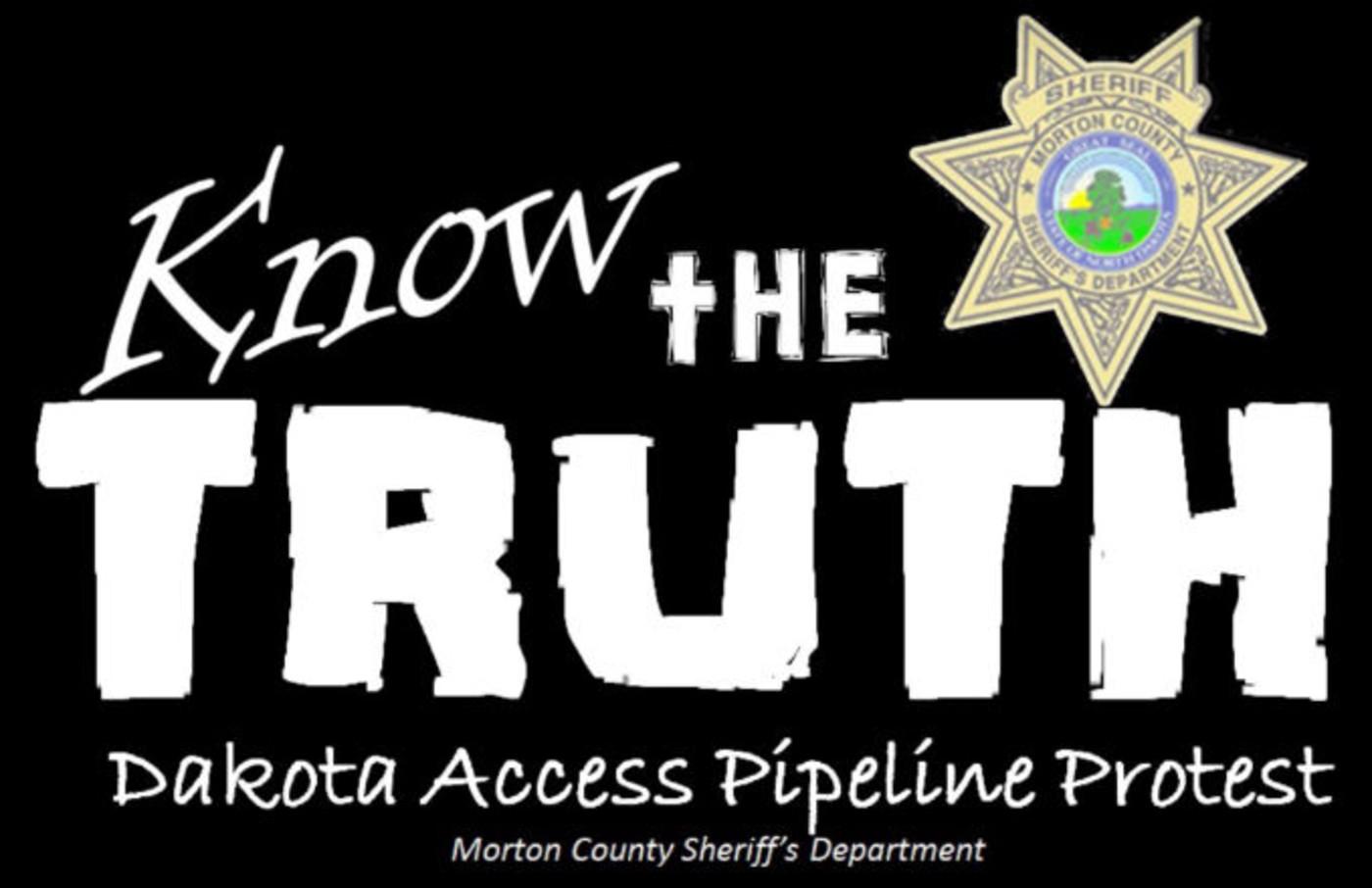 Morton County Sheriff's Department video