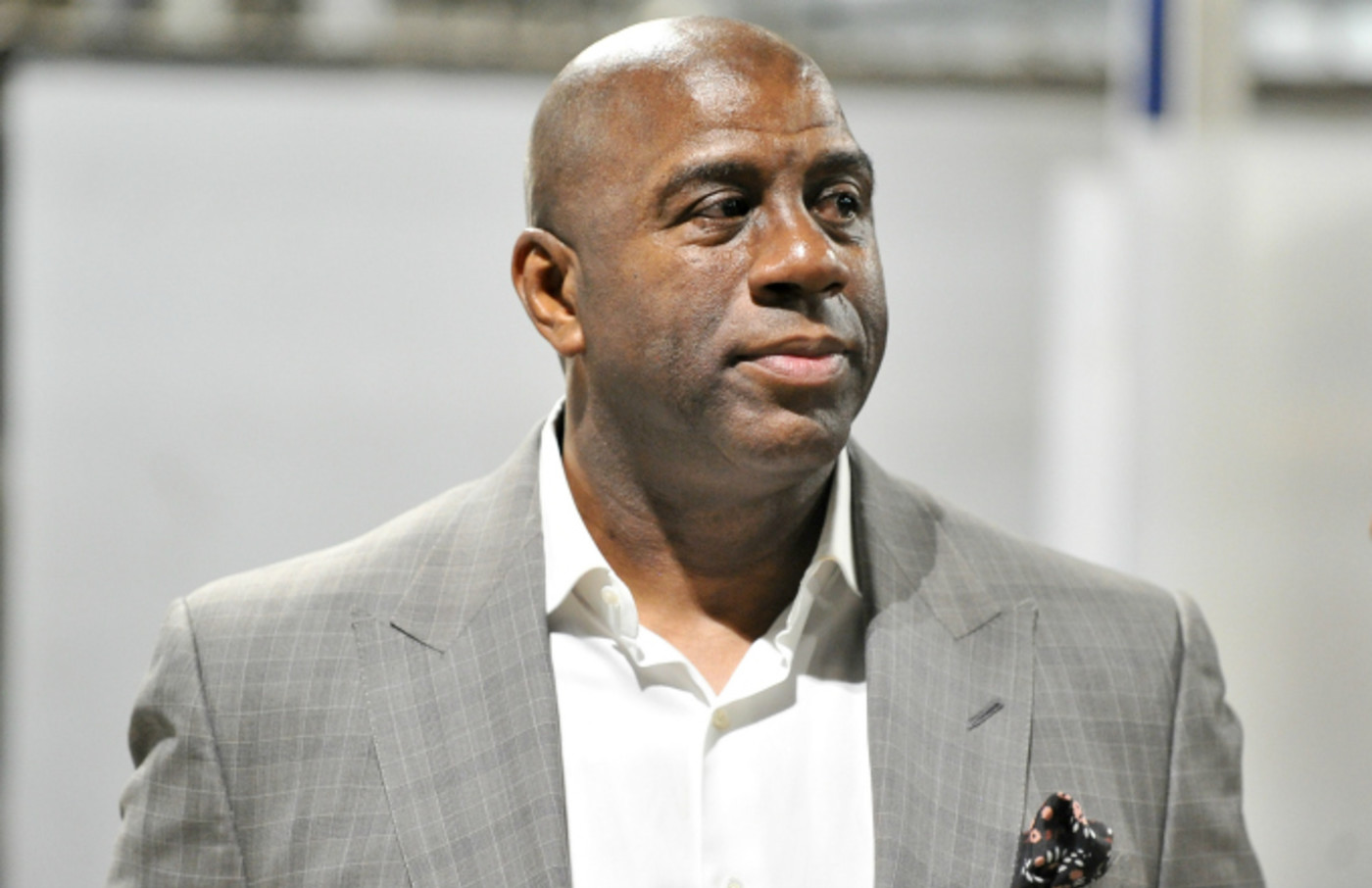 Magic Johnson resigns as the Lakers' president of basketball operations