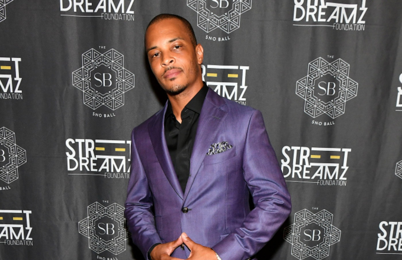 Rapper T.I. attends 2019 Inaugural SnoBall A Black Tie Affair