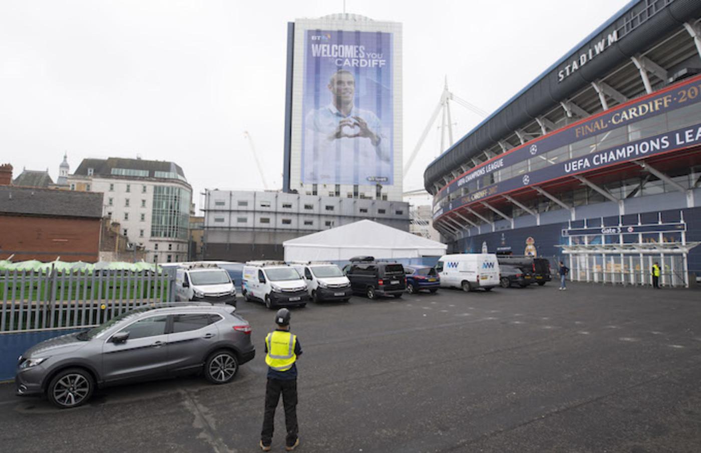 Cardiff city centre stadium