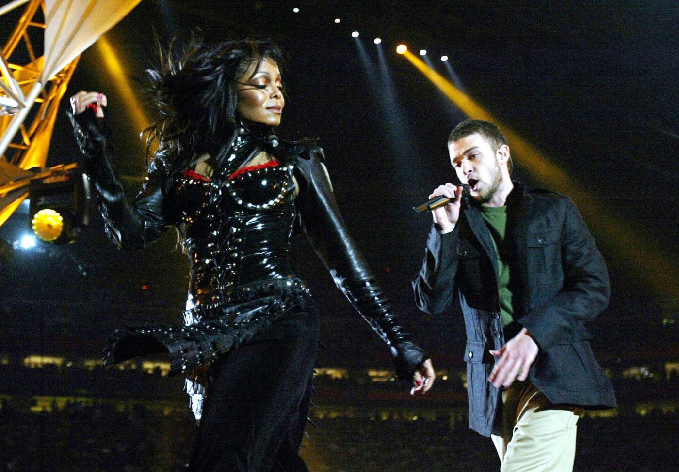 Janet Jackson and Justin Timberlake