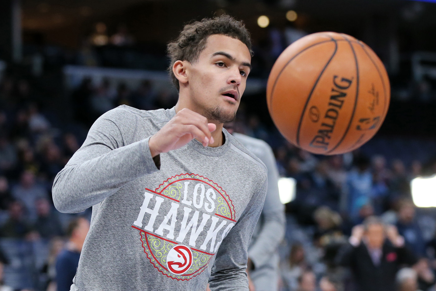 Trae Young Hawks Grizzlies 2020