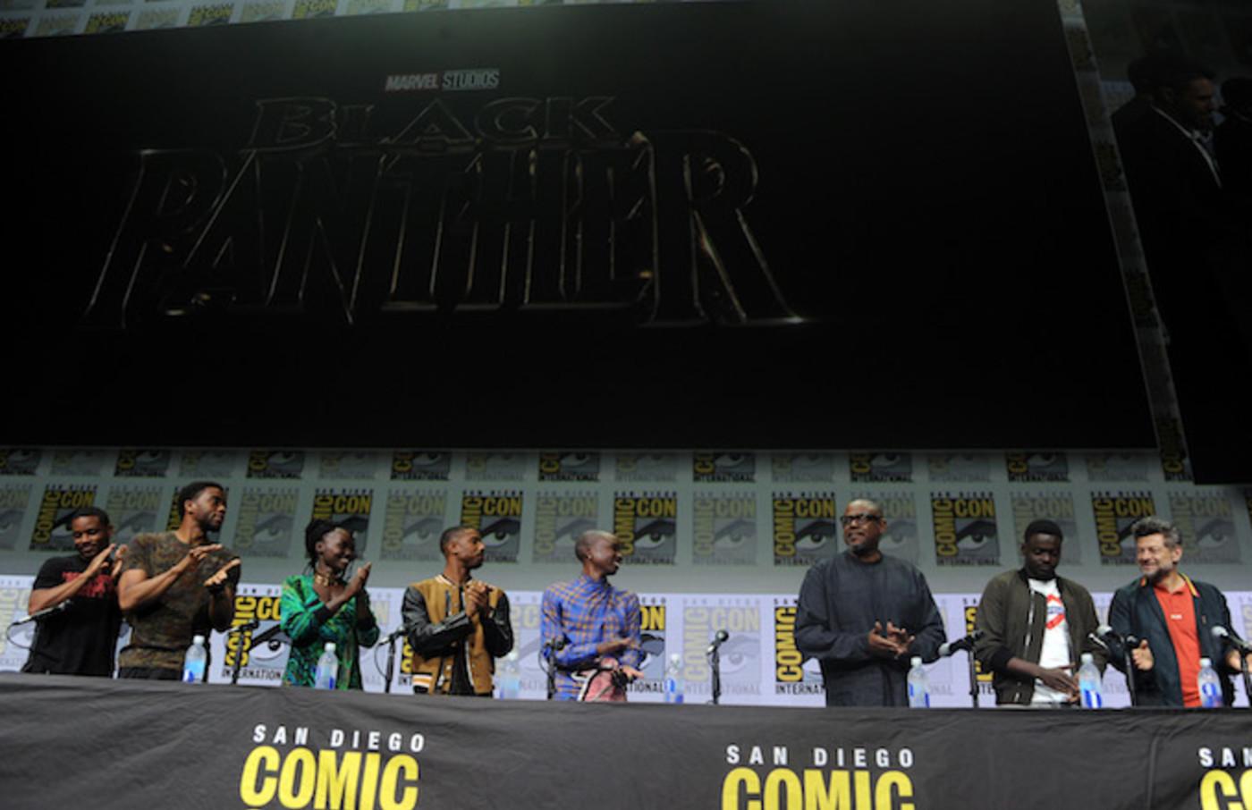 'Black Panther' cast.