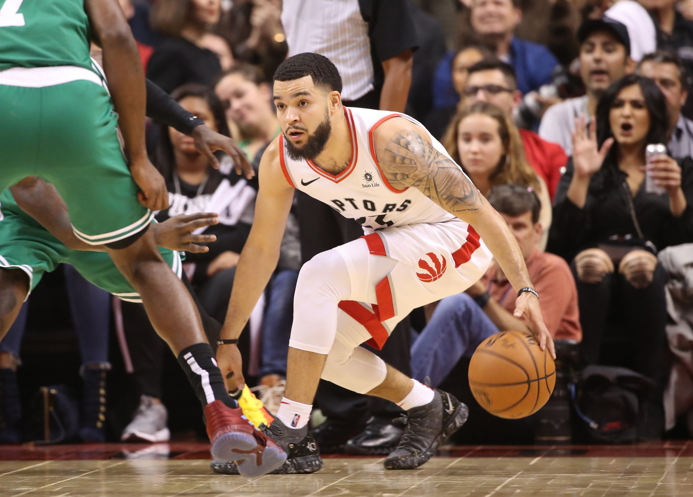 Fred VanVleet Raptors Celtics 2018