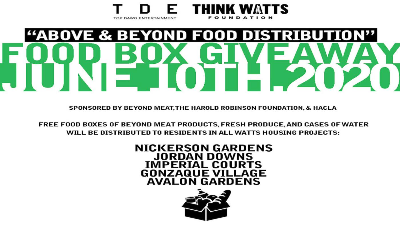 tde-think-watts-above-beyond-food