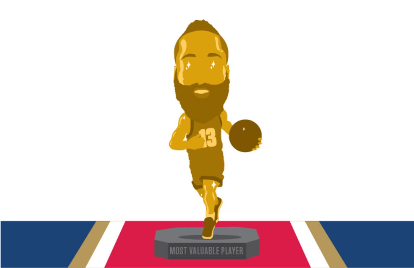 James Harden MVP All-Star Break 2017