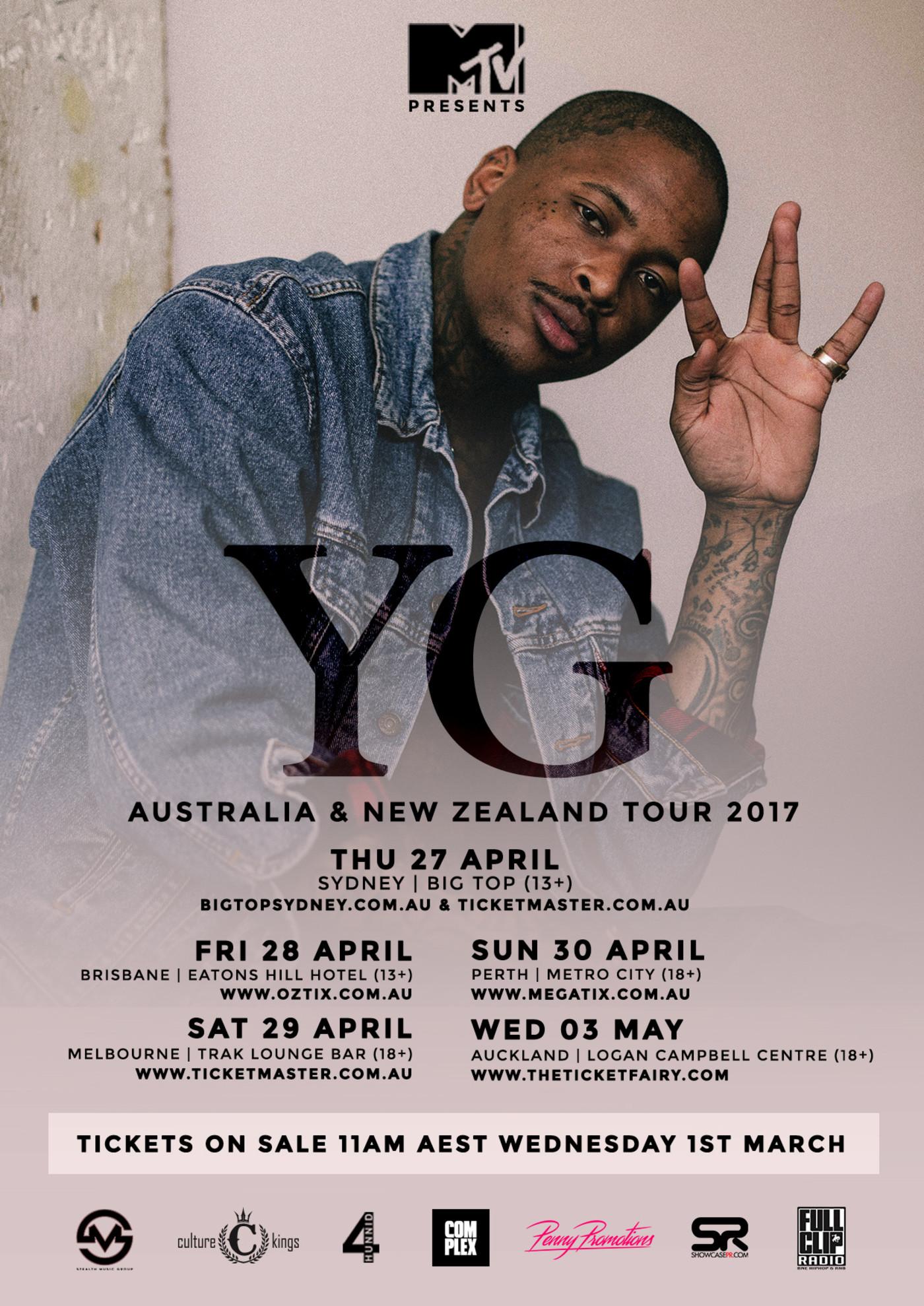 Yg Tickets Sydney