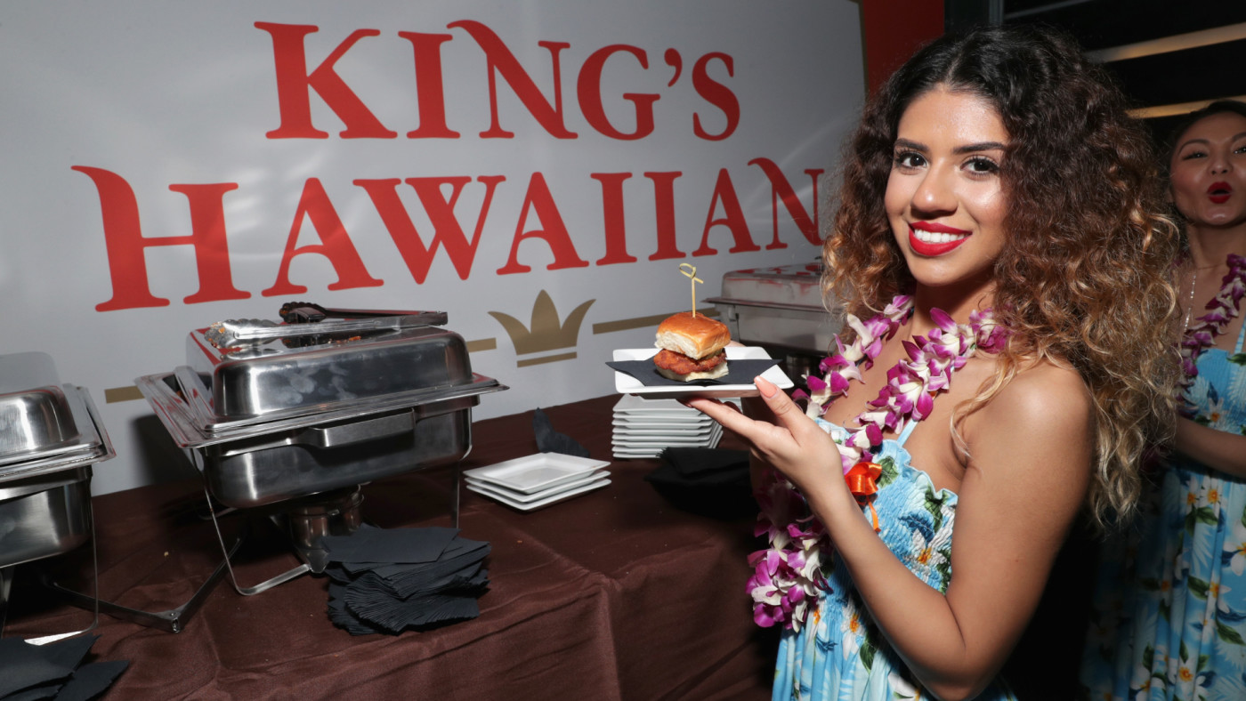 A kings Hawaiian girl attends the Thuzio Executive Club and Rosenhaus Sports Representation Party.