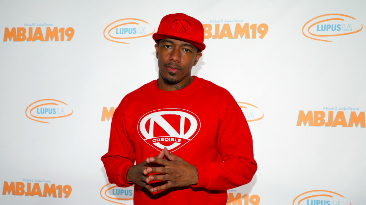 Nick Cannon attends Michael B. Jordan's MBJAM at Dave & Buster's Hollywood
