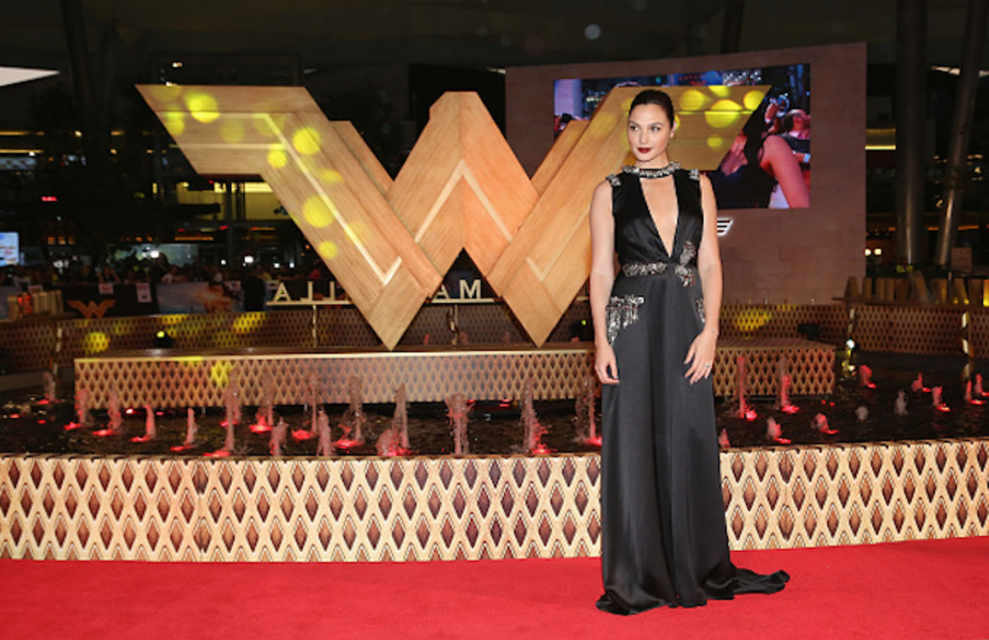 Actress Gal Gadot attends the 'Wonder Woman' Mexico City premiere