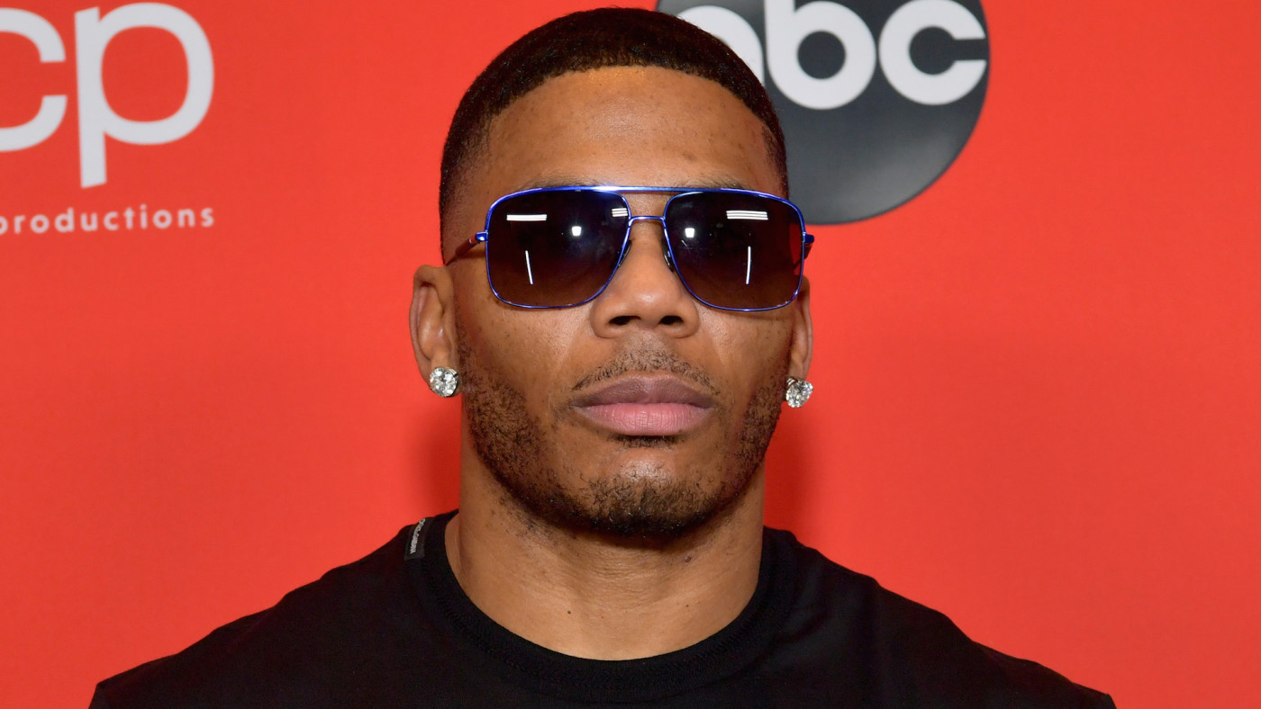 Nelly attends the 2020 American Music Awards at Microsoft Theater