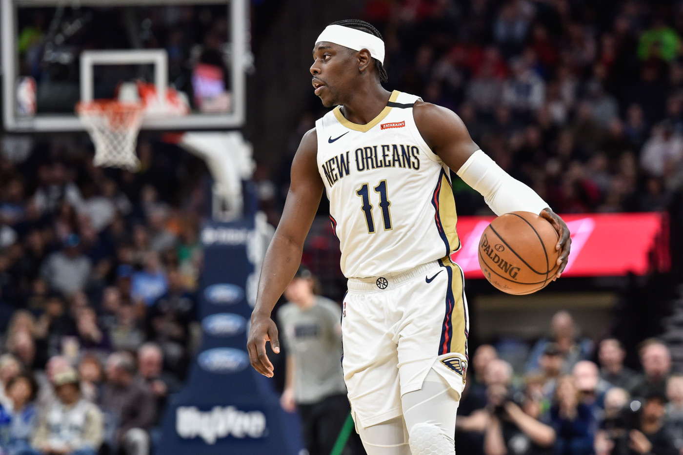 Jrue Holiday Pelicans Wolves 2020