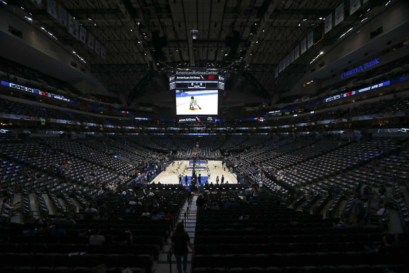 Dallas American Airlines Arena March 2020
