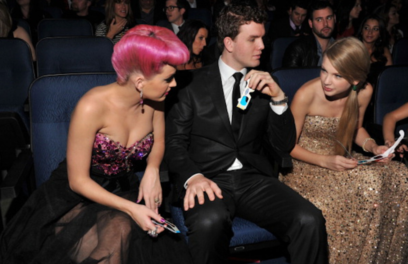Singer Katy Perry, Austin Swift and singer Taylor Swift