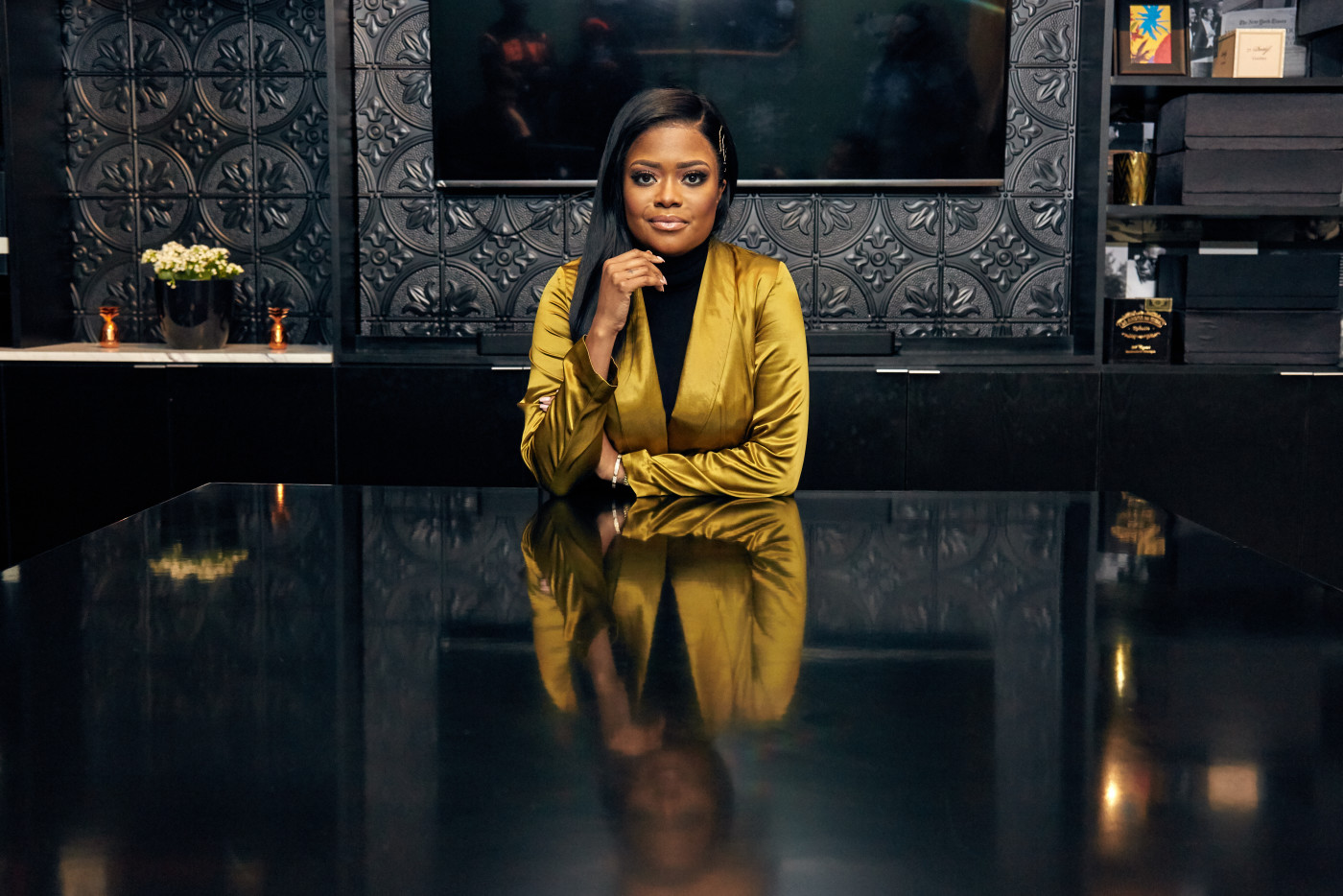 karen civil retouched Good looking out