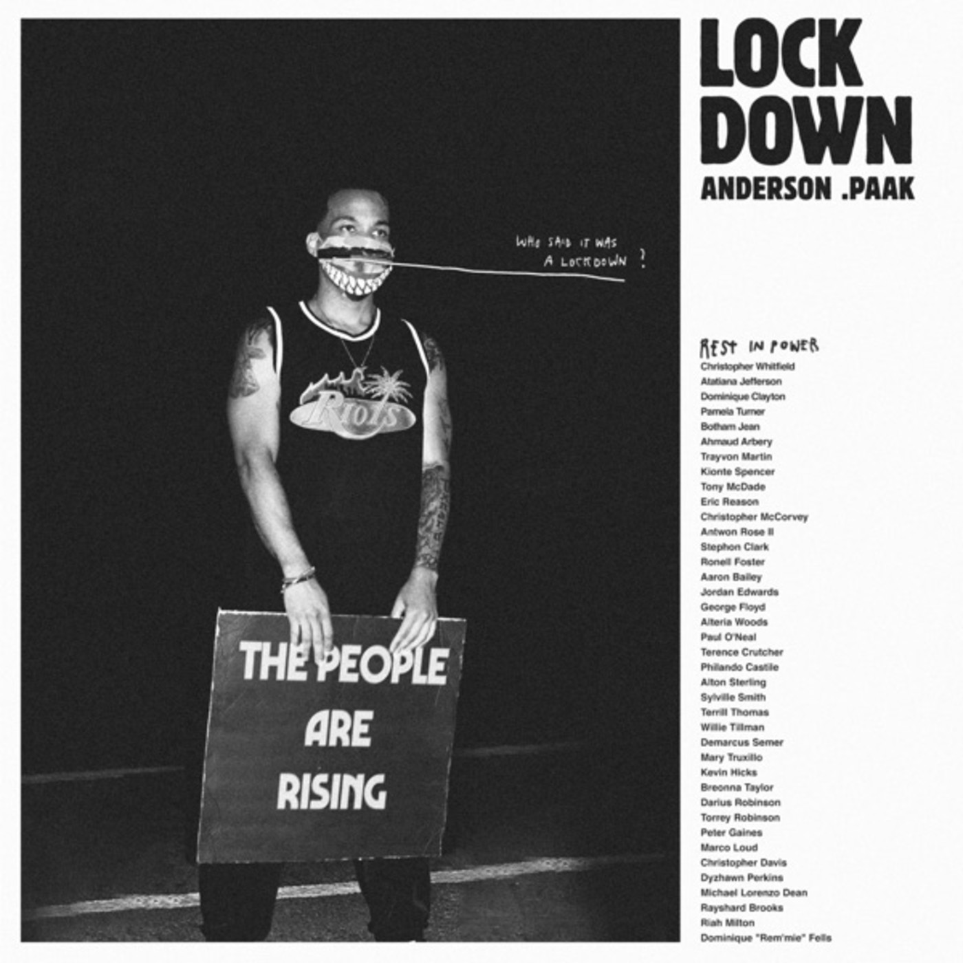 "Anderson .Paak Drops Video for His Protest Track ""Lockdown"" 