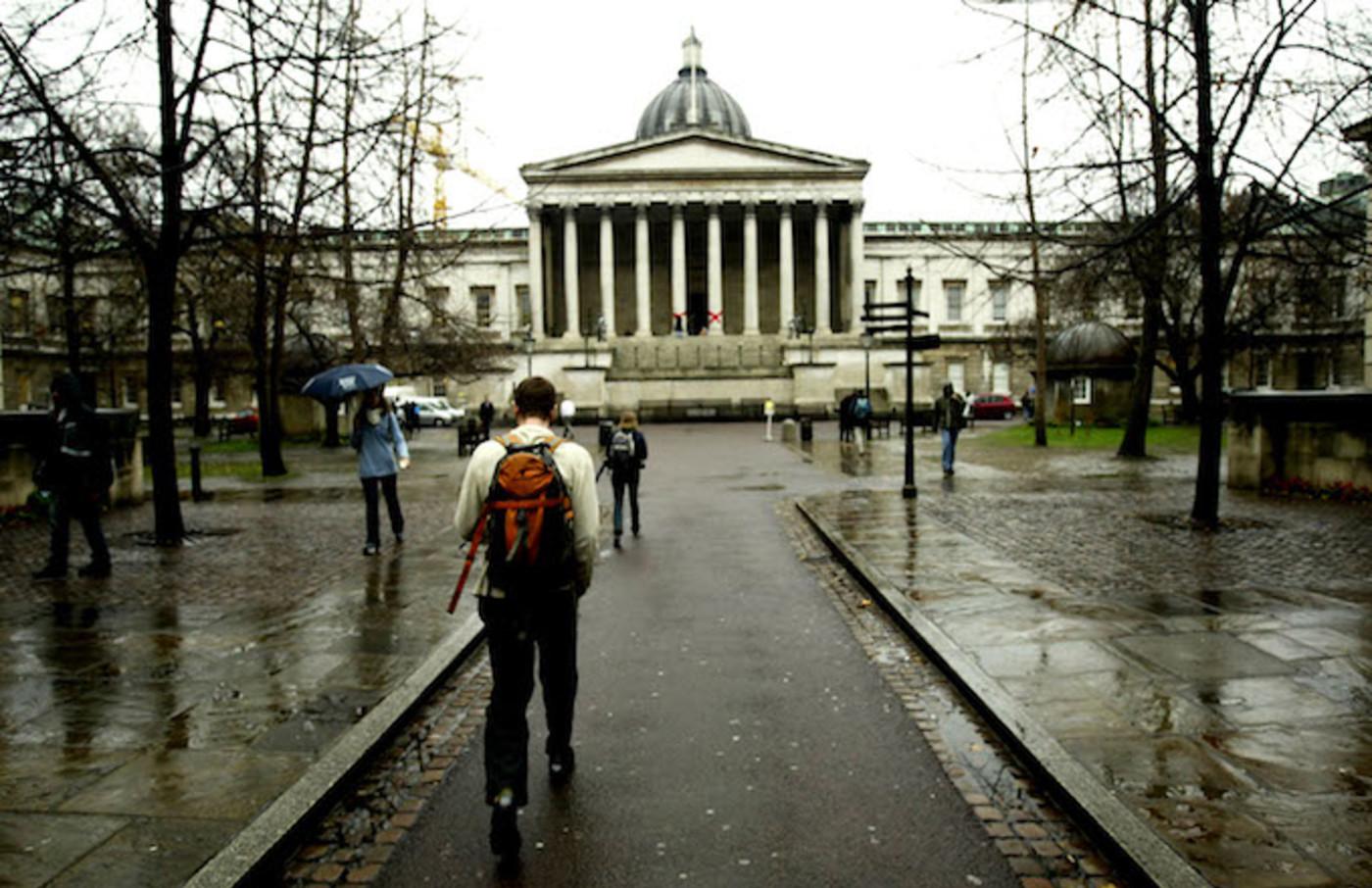 University College London entrance.