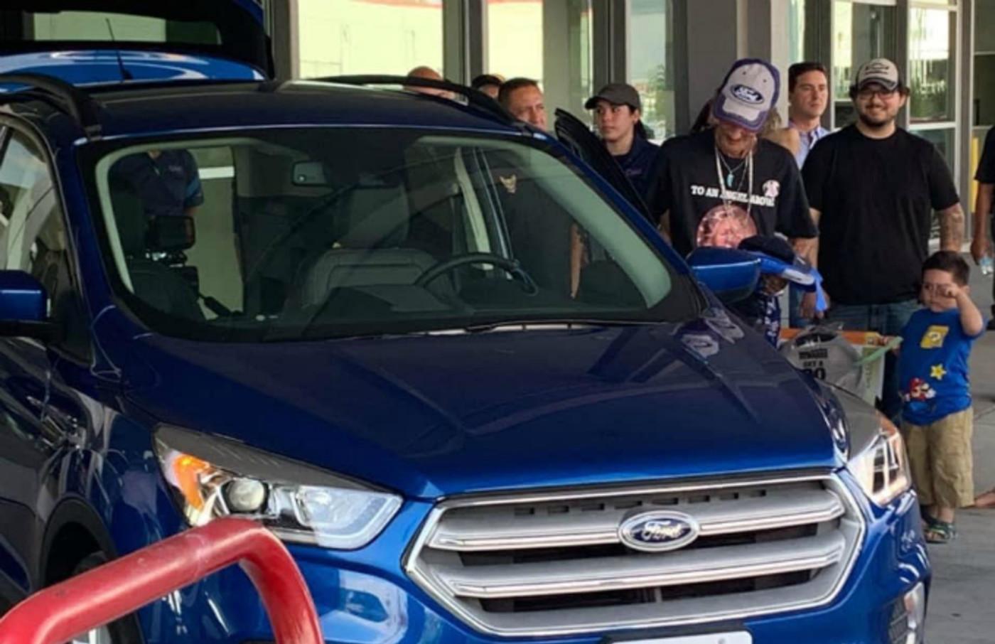 Antonio Basco's new ford escape