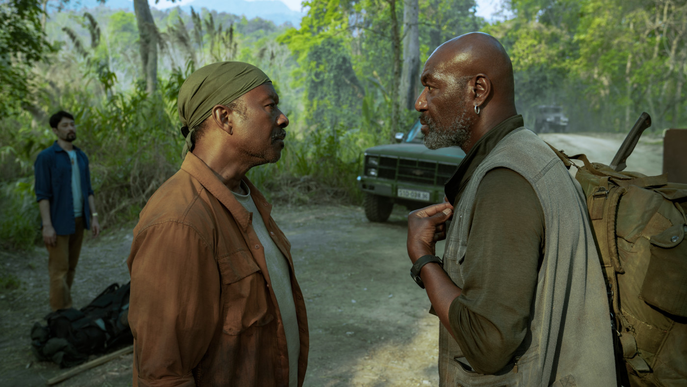 Clarke Peters and Delroy Lindo in Spike Lee's Netflix Film 'Da 5 Bloods'