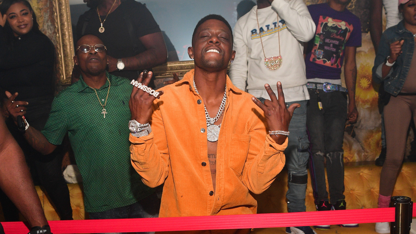 Lil Boosie attends Chaos Tuesday Nights
