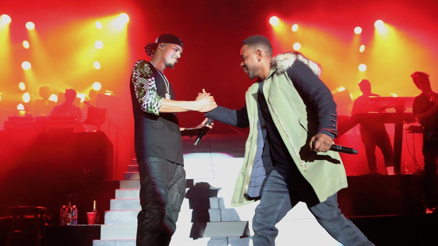 Kendrick Lamar and J. Cole