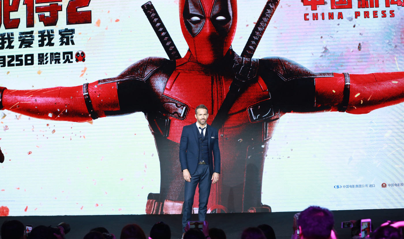 Deadpool x Ryan Reynolds