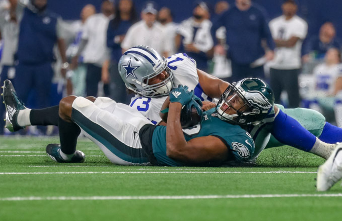 The Eagles and Cowboys play on December 9, 2018