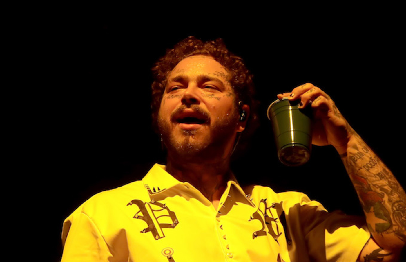 Post Malone performs in concert at Atlantic City Boardwalk Hall.