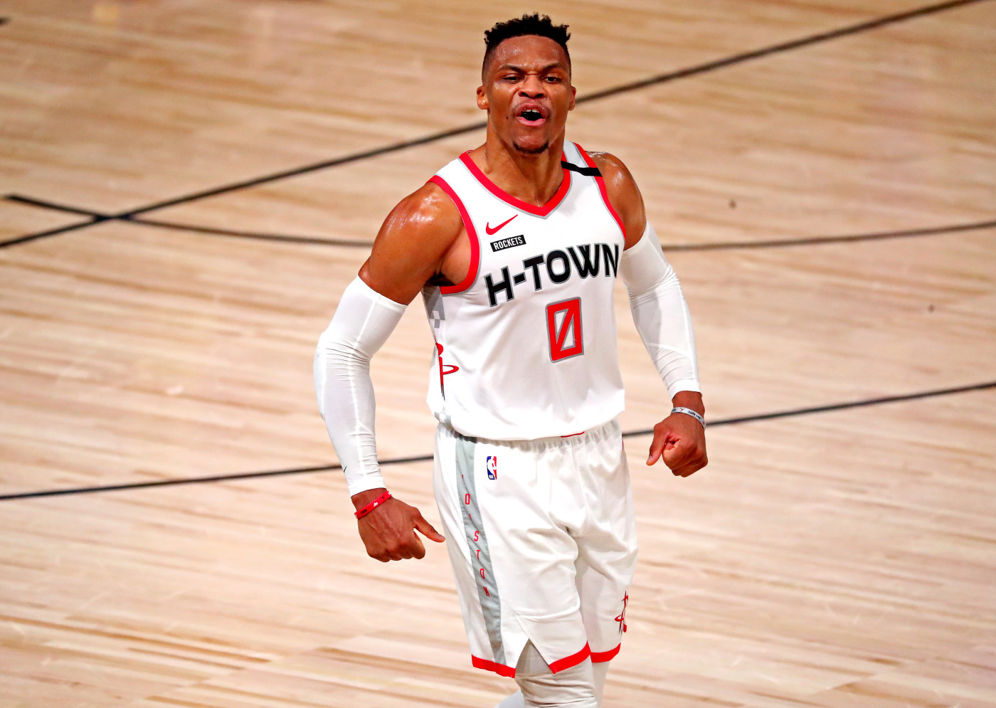 Russell Westbrook H-Town NBA Bubble 2020