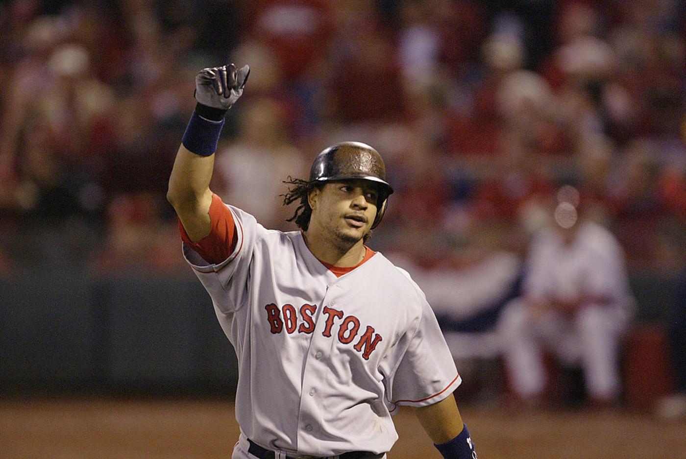 Manny Ramirez Red Sox 2004 Getty