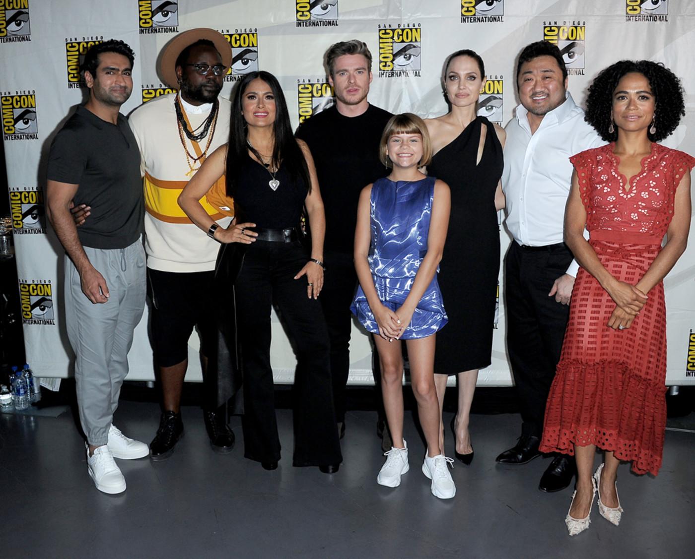 'Eternals' cast a Comic-Con 2019