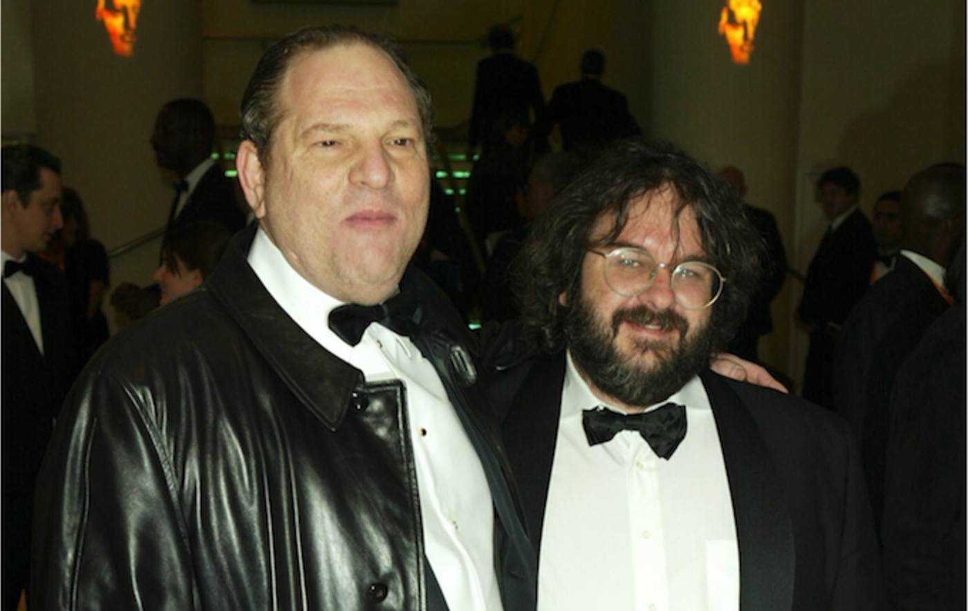 Harvey Weinstein and Peter Jackson