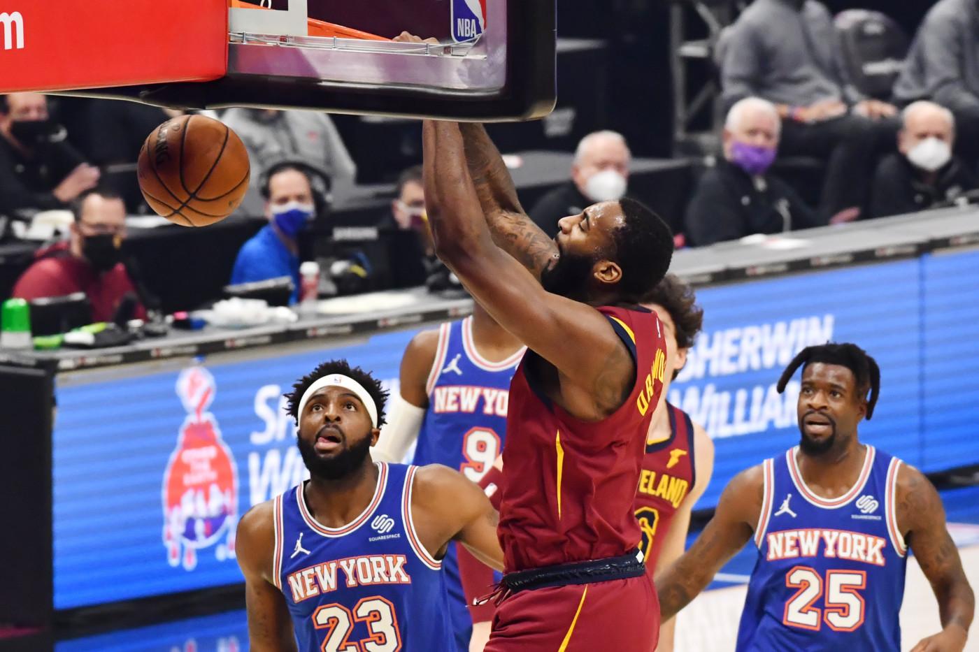Andre Drummond Cavs Knicks 2021