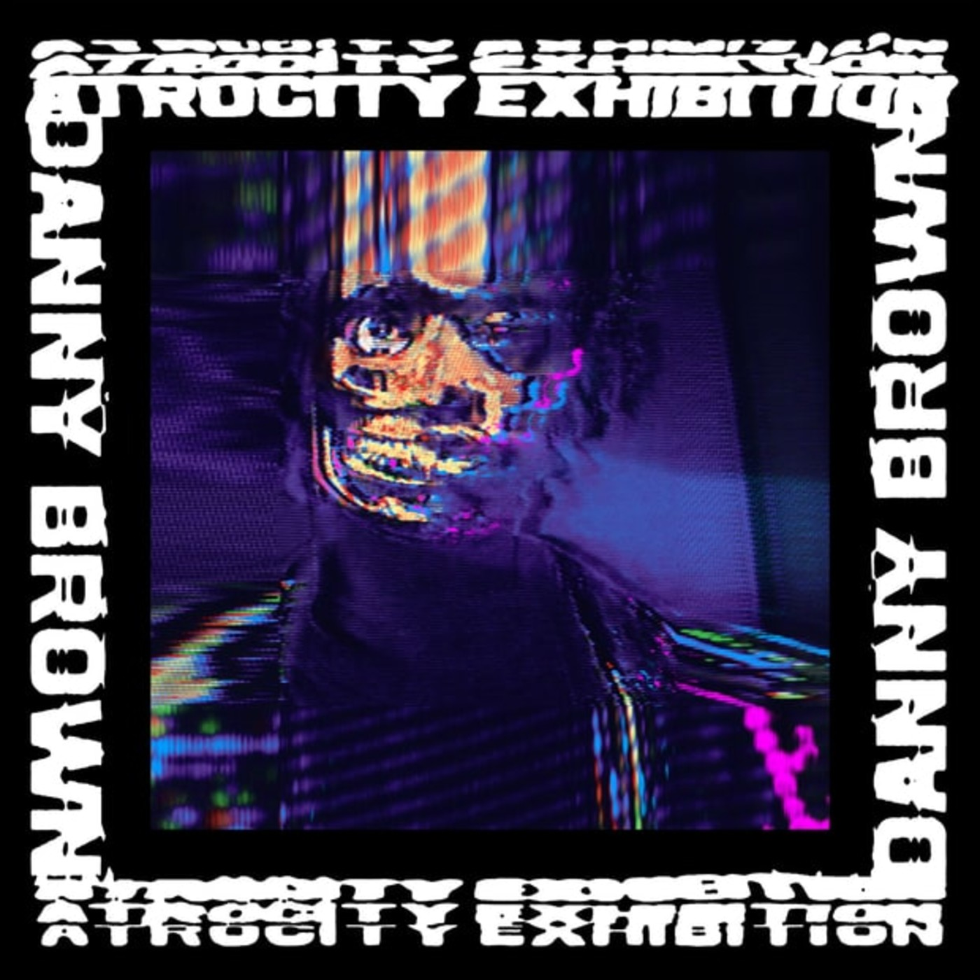 Danny Brown 'Atrocity Exhibition' album cover.
